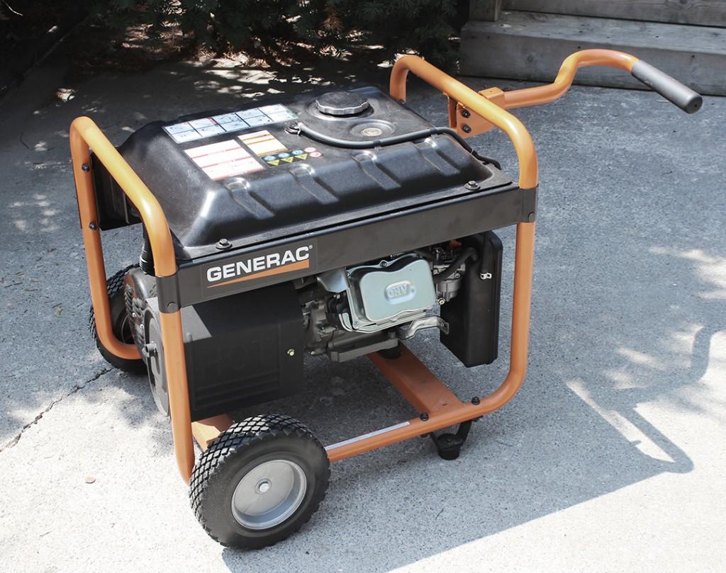 Generac 5500 Generator Rolling Setup