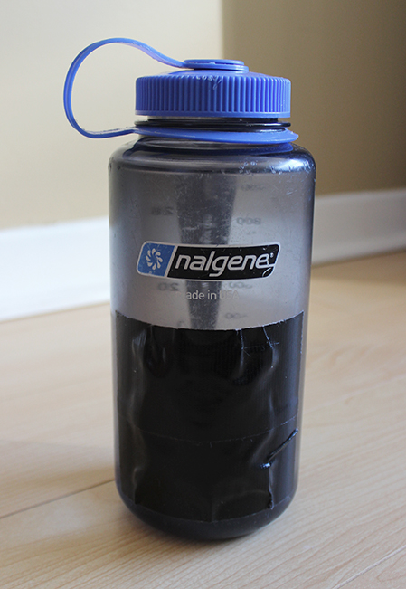 Nalgene With Duck-taped Purification Tablets