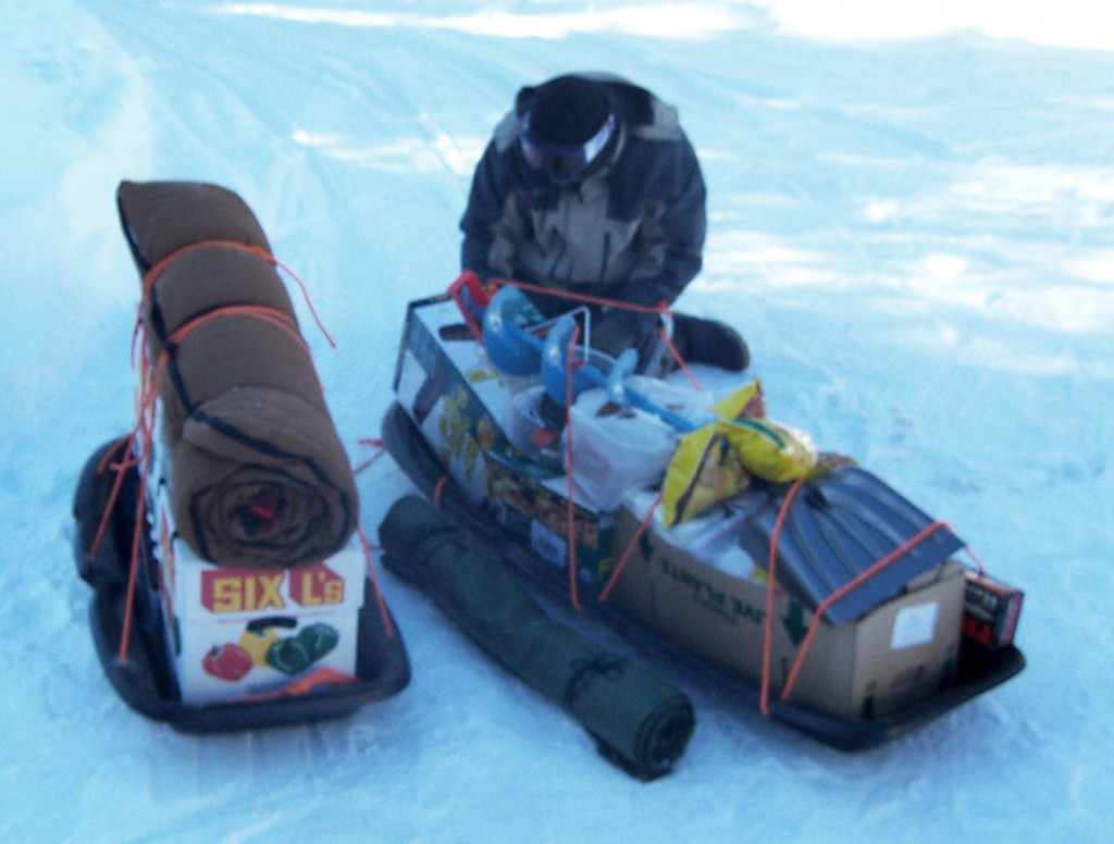 Year 2 Sled Test - Upgraded sleds but poor packing and untested gear