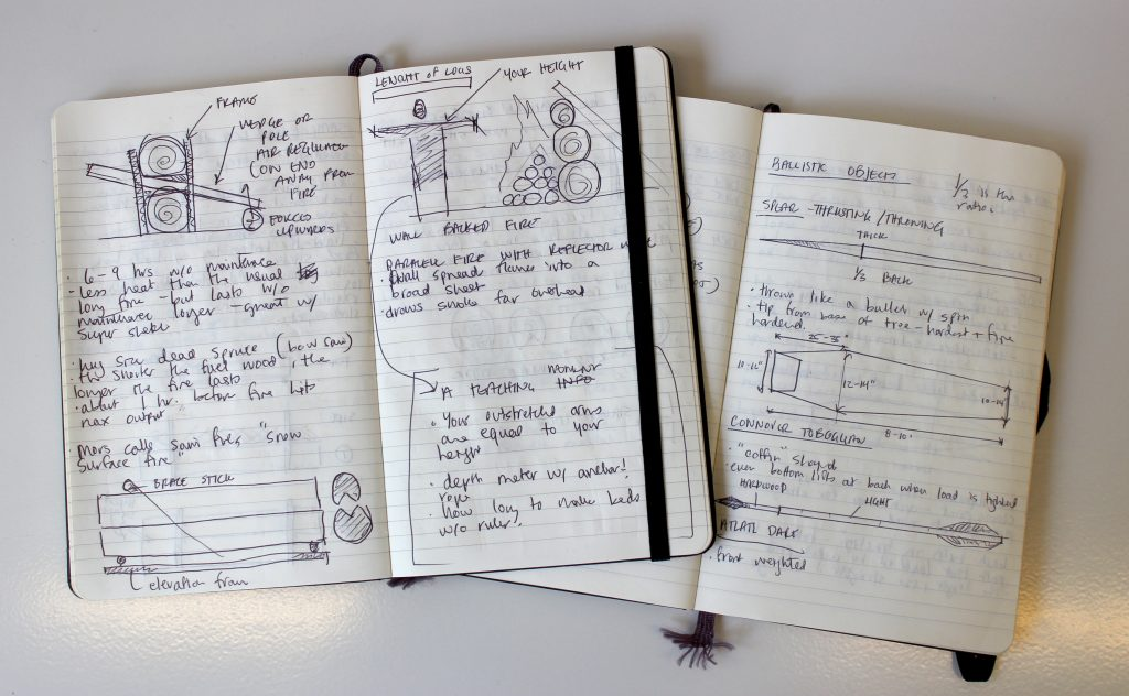 Ballistic Patterns in Journal