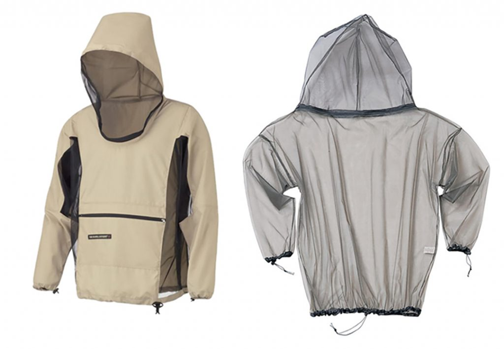 Breathable and non-breathable bug jackets